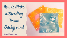 Tissue Color-Bleed Background Technique