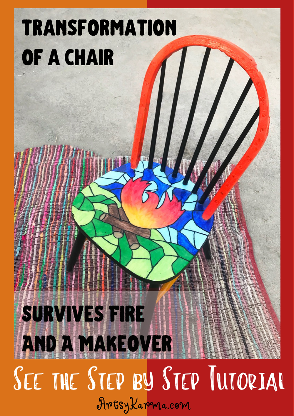step by step chair transformation
