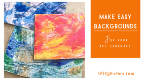 Credit Card Painting Technique For Backgrounds