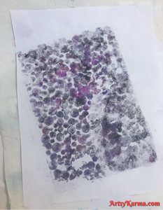 How do use alcohol lift ink