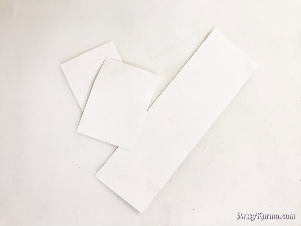 Cardstock for an alcohol ink background