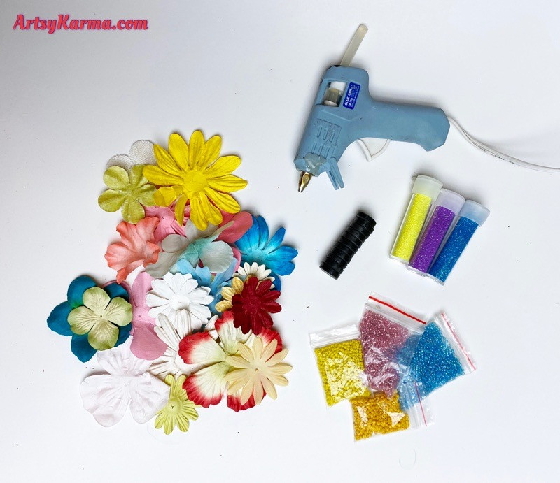 How to use artificial flowers