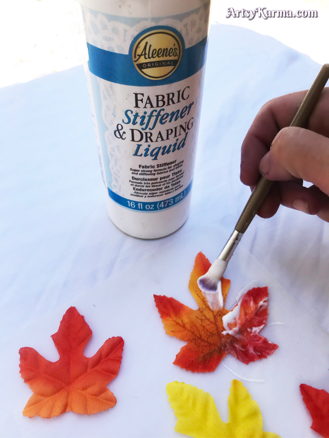 Harden your fall leaves
