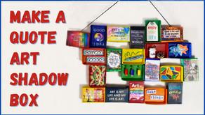 Make an Inspirational Shadow Box Collage