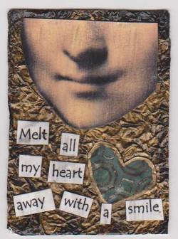 Artist trading card