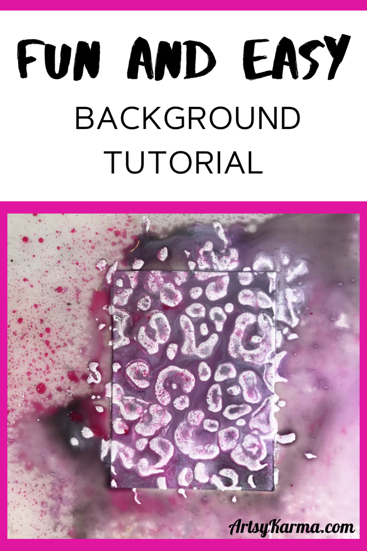 fun and easy background tutorial