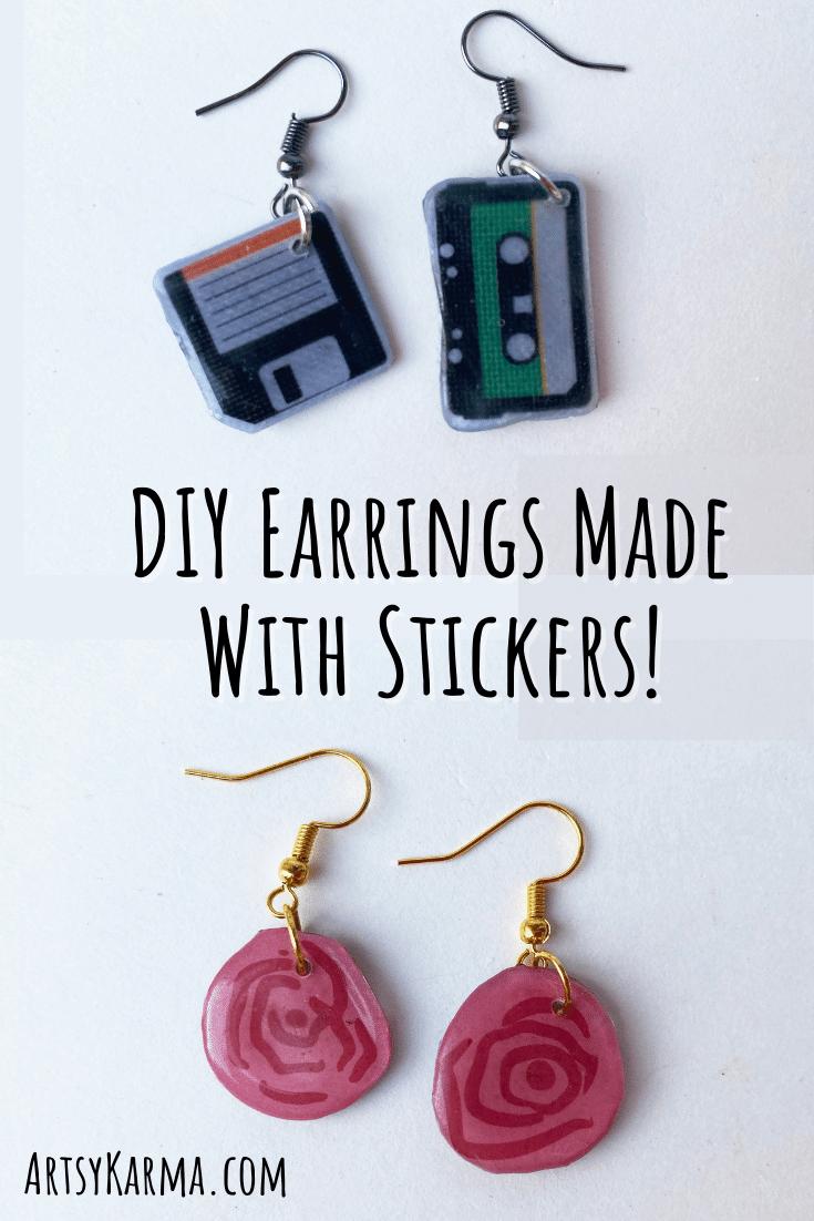 How to make homemade earrings