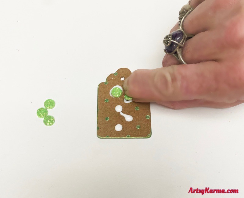 Use embellishments for jewelry