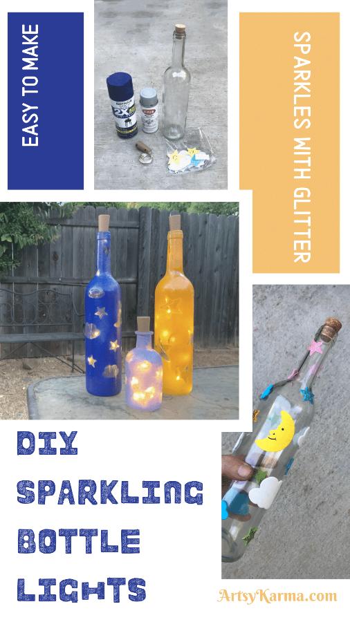 Easy to make sparkling wine bottles