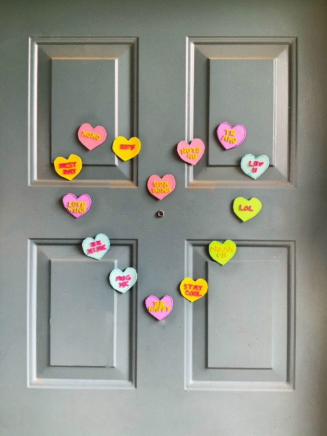 DIY valentines day decor