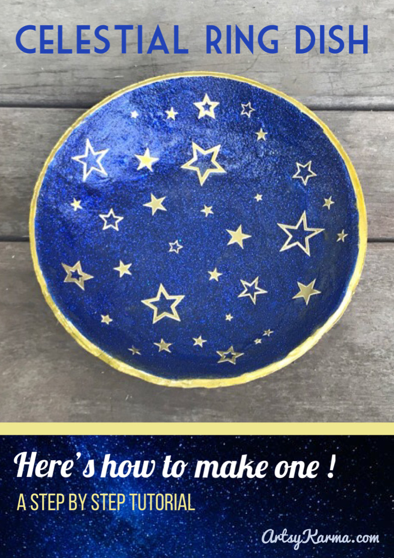 how to make a celestial ring dish
