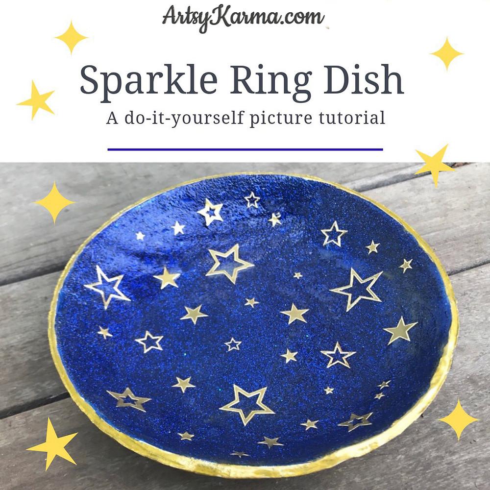 diy ring dish tutorial