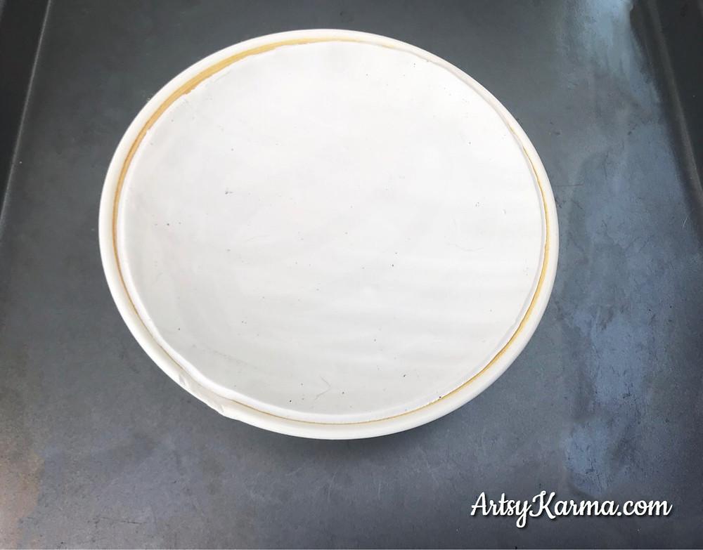 shaping clay  for diy ring dish