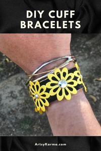 DIY cuff bracelets