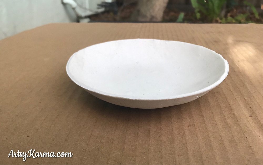 backed bowl shape  for diy ring dish