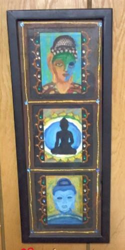 Buddha framed art