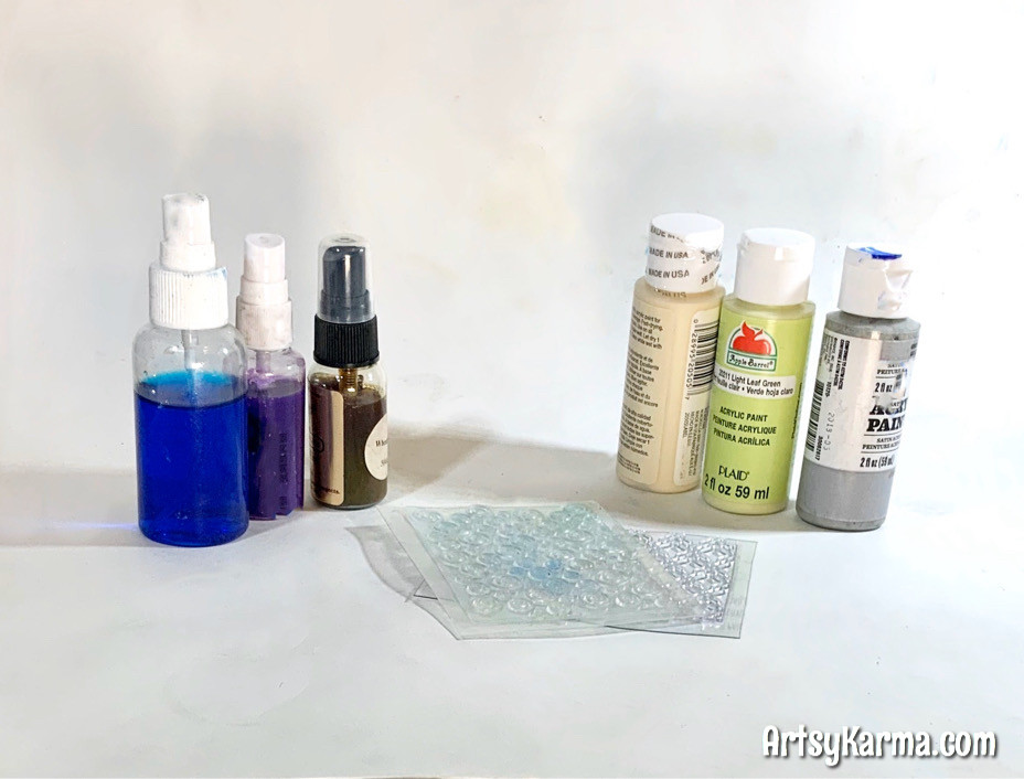 acrylic resist supplies