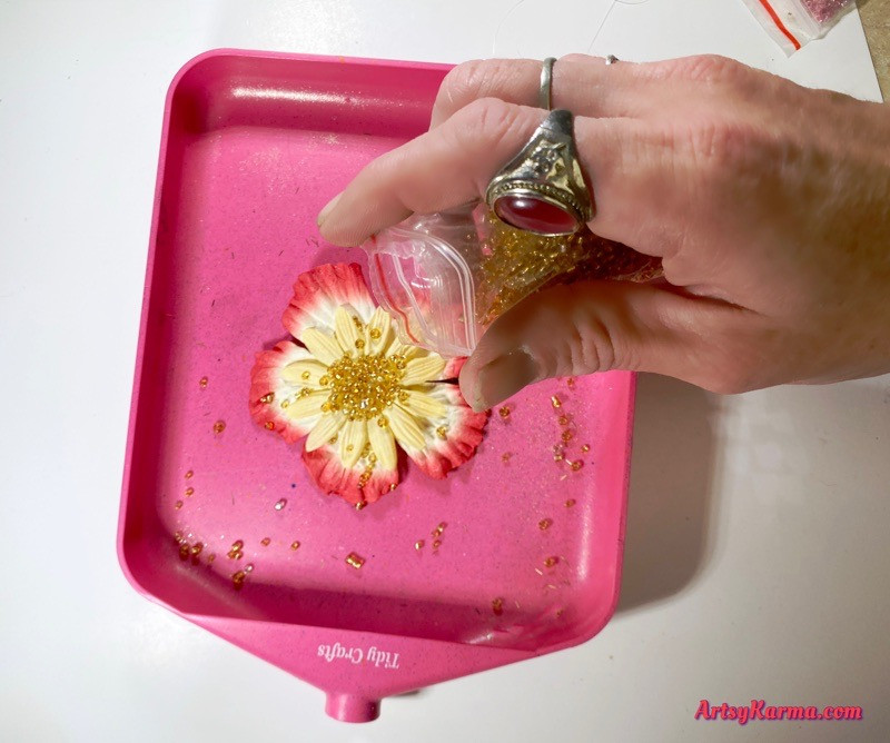 Fake flower craft