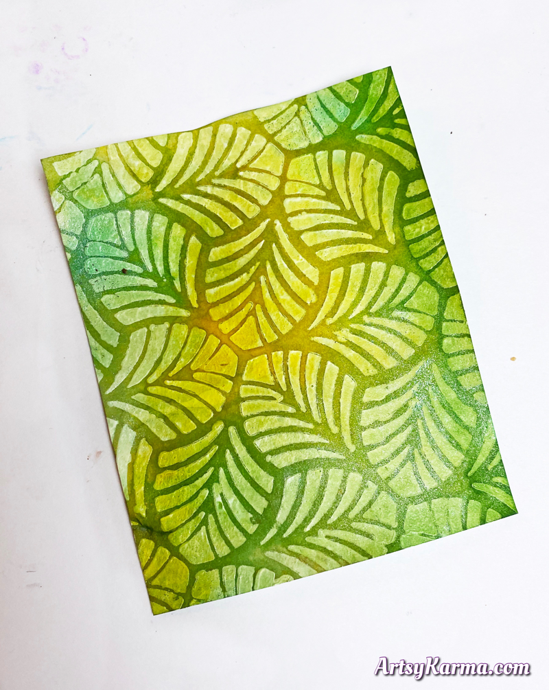 Technique for art journals