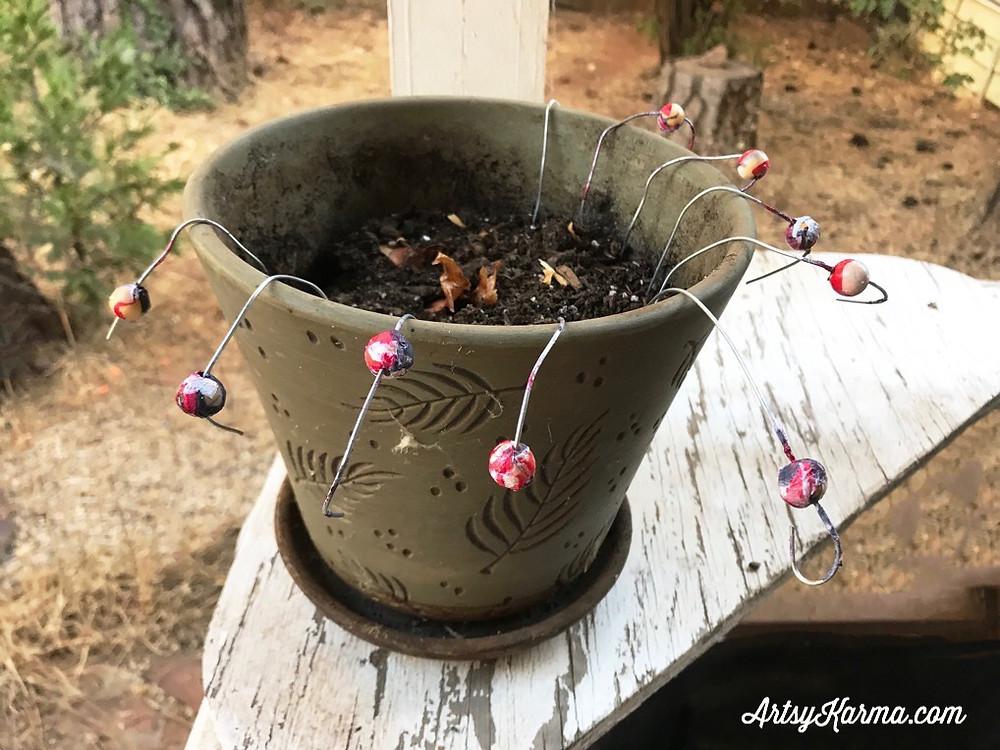 bead drying method