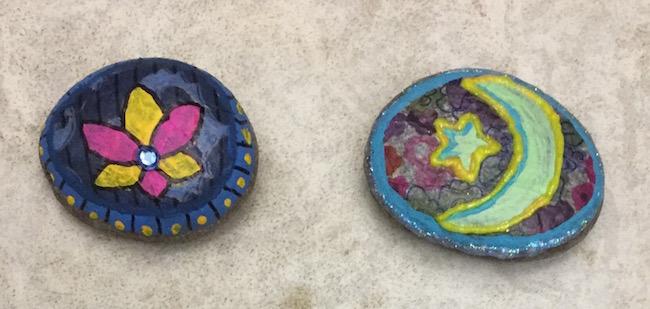 Altered rocks