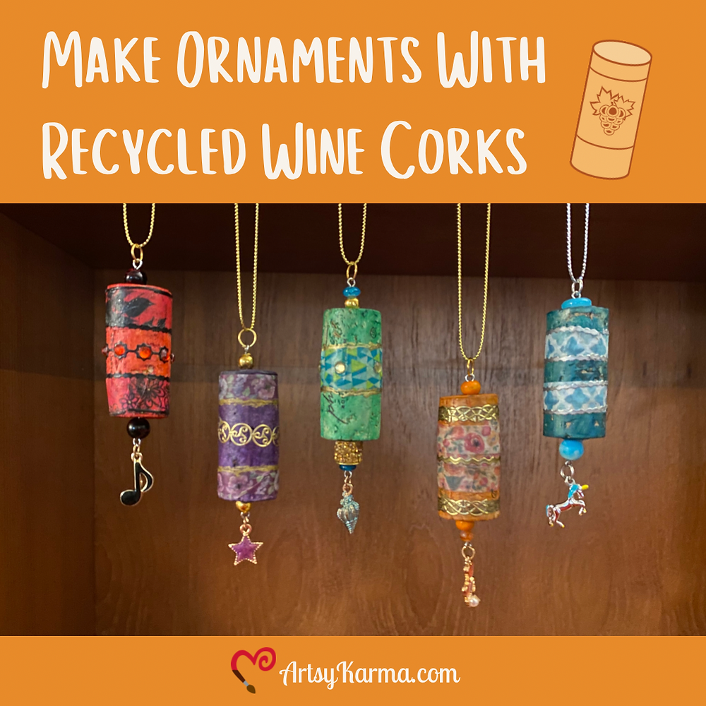 Craft you can make with leftover wine corks