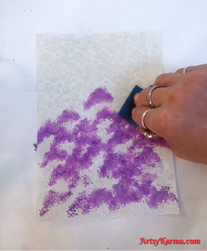 Alcohol ink tutorial