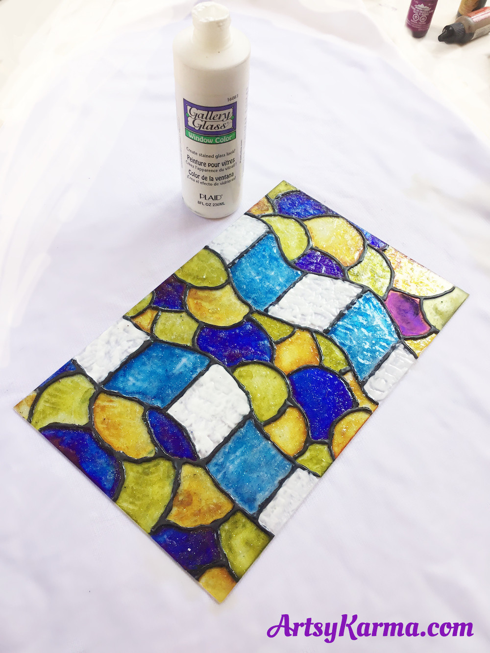 gallery glass for faux stained glass