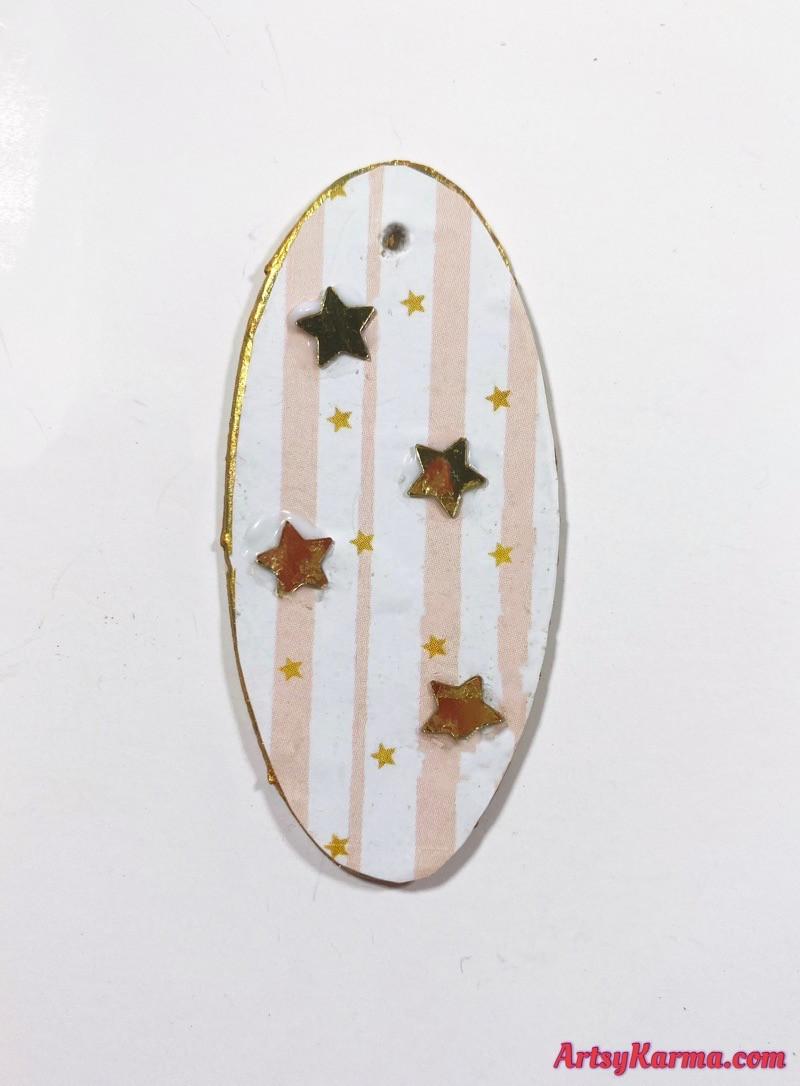 Embellished pendants diy