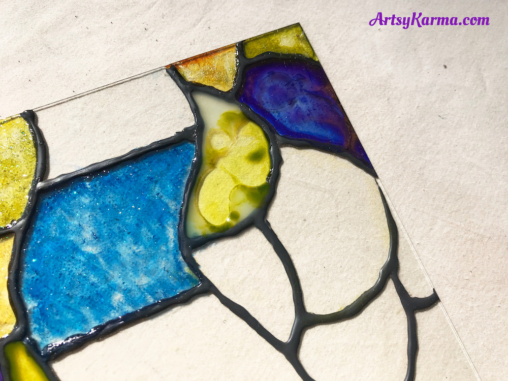 how you stain glass
