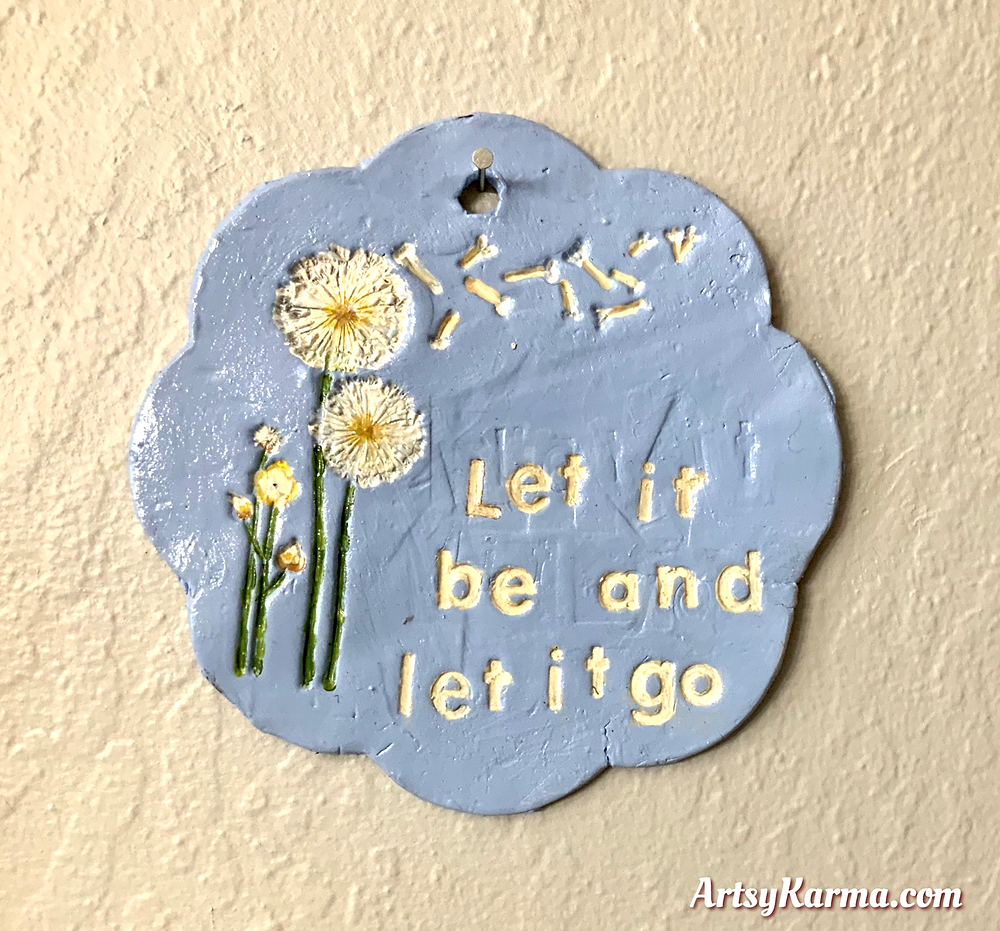 inspirational quote sign diy
