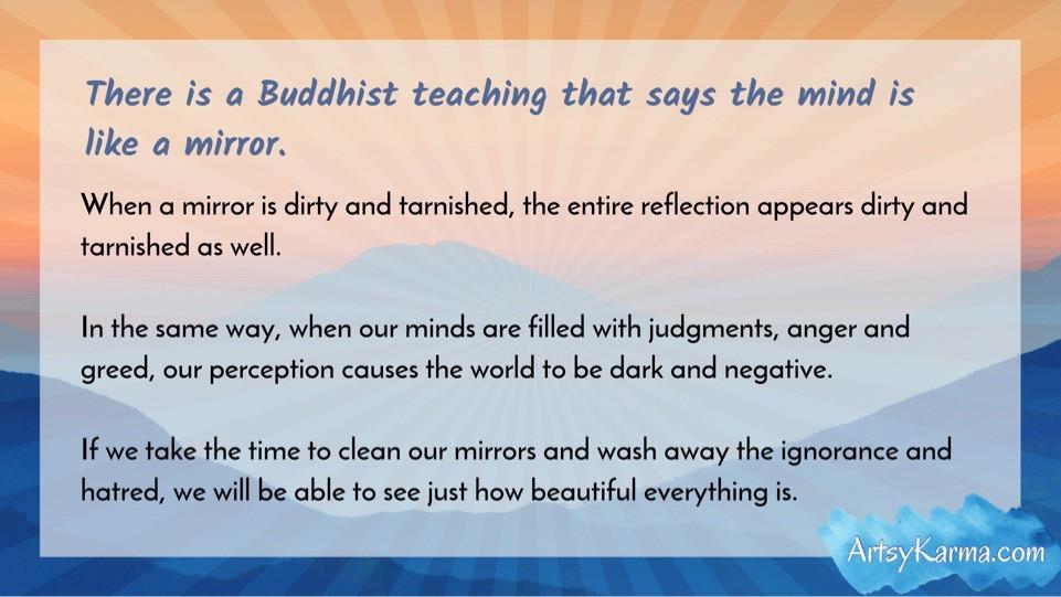 buddhist mirror teaching