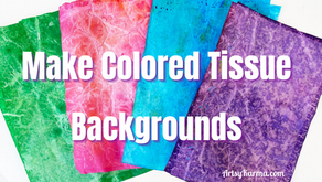 How to Color Tissue Paper for Arts and Crafts