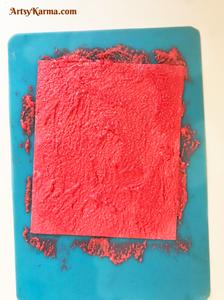 How do you use sand texture gel?