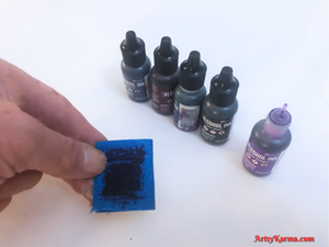 alcohol ink embossing