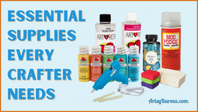 Must-Have Craft Supplies for the Committed Crafter