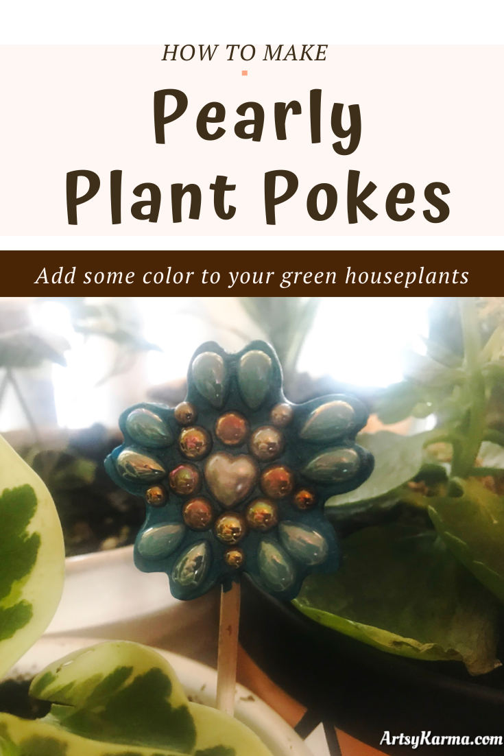 house plant diy plant pokes