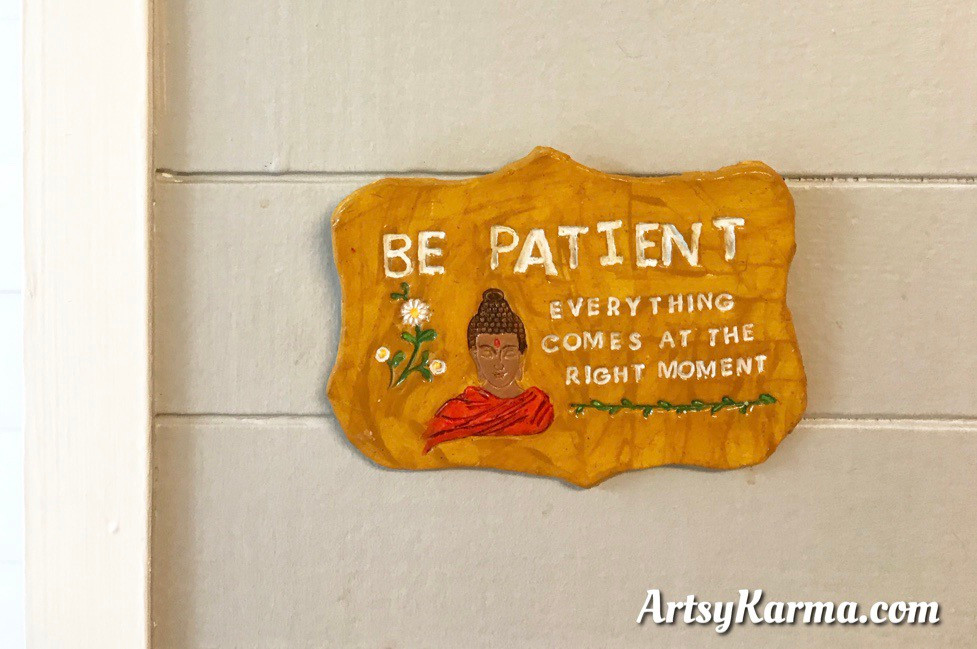 display your quote plaque
