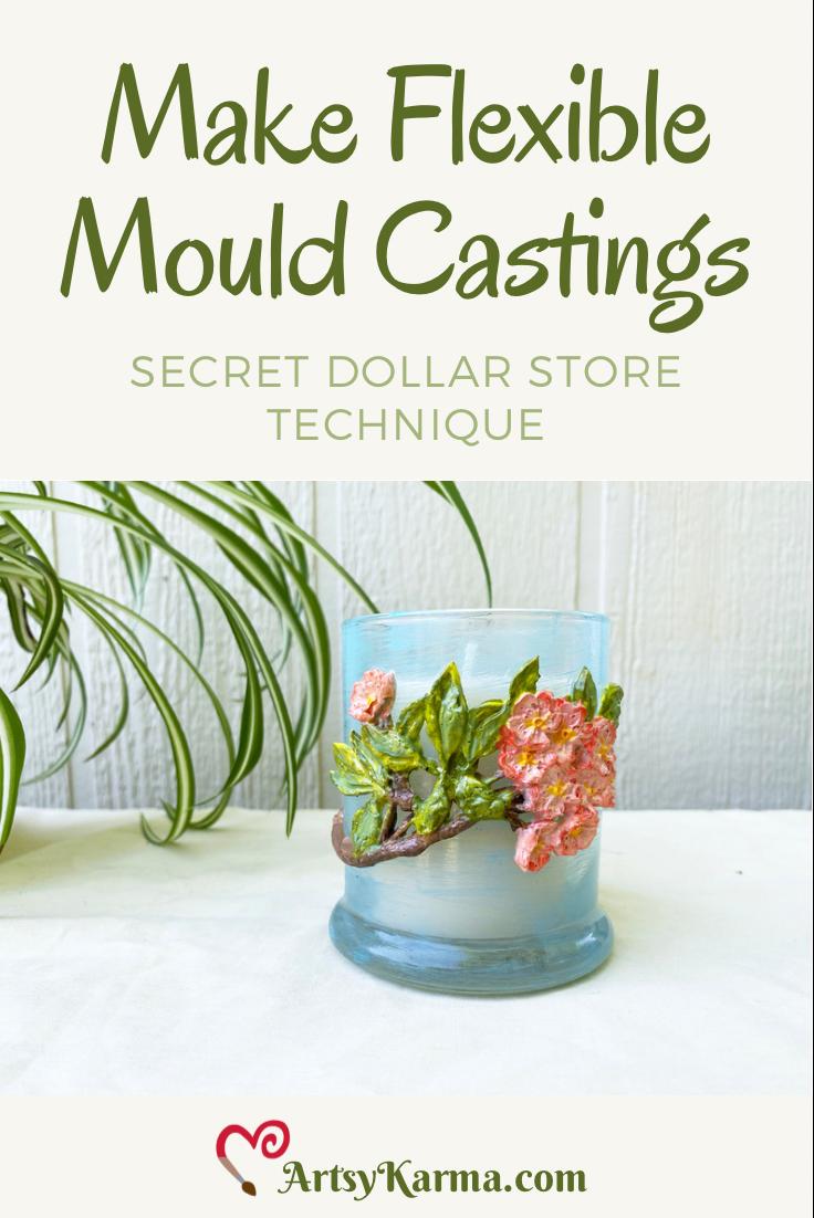 Make flexible mould castings