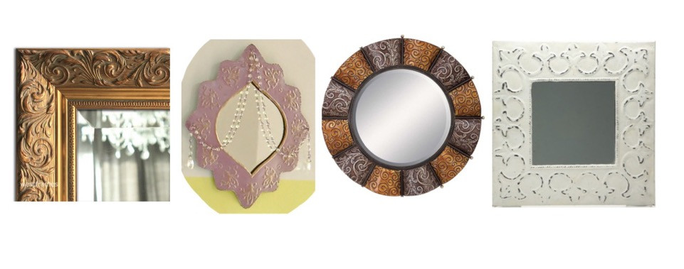 Embossed mirror inspiration