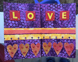 Love art journal page