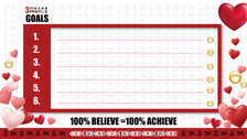 Positive 3K PC Wallpaper (Goals 2)