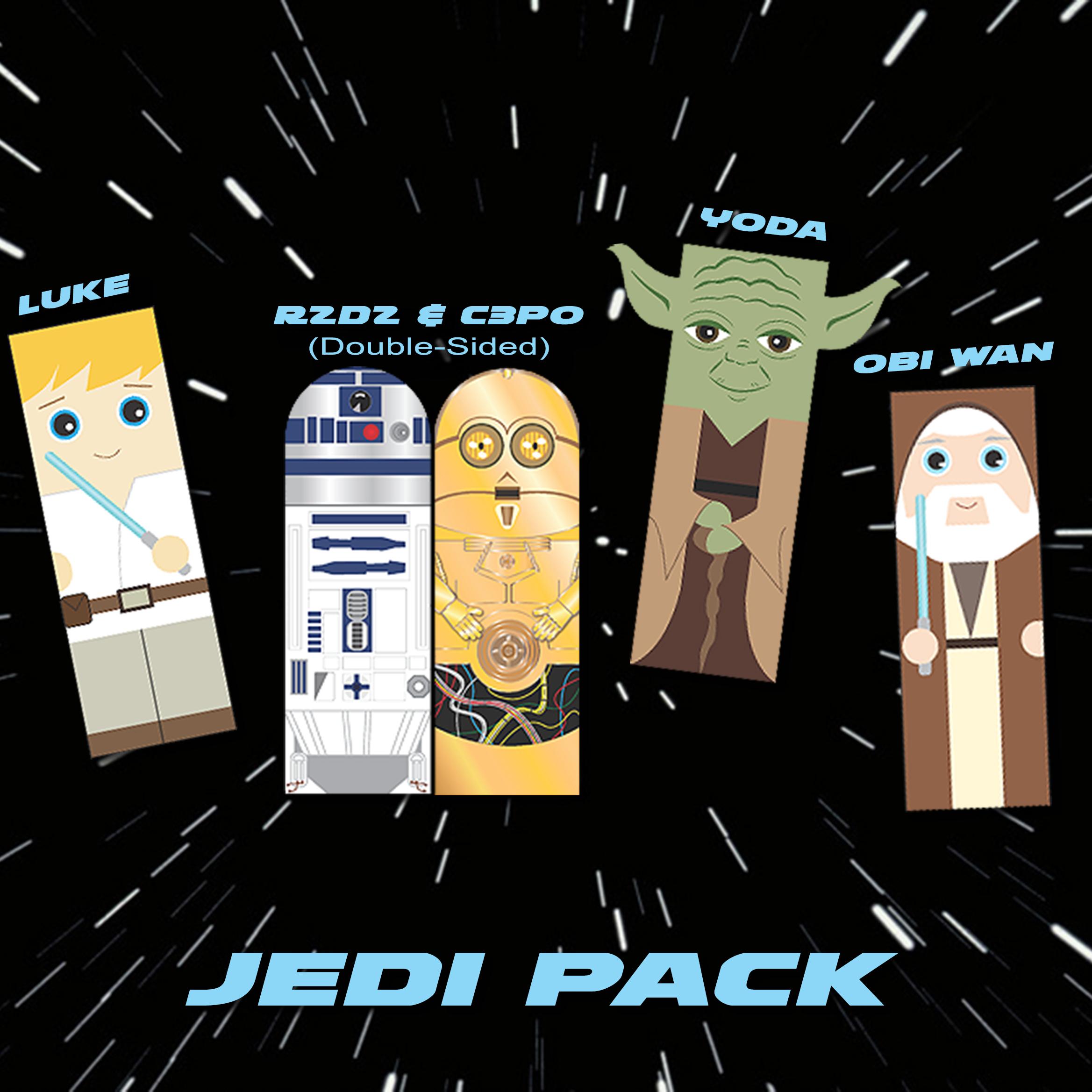 Star Wars Bookmarks_Jedi Pack