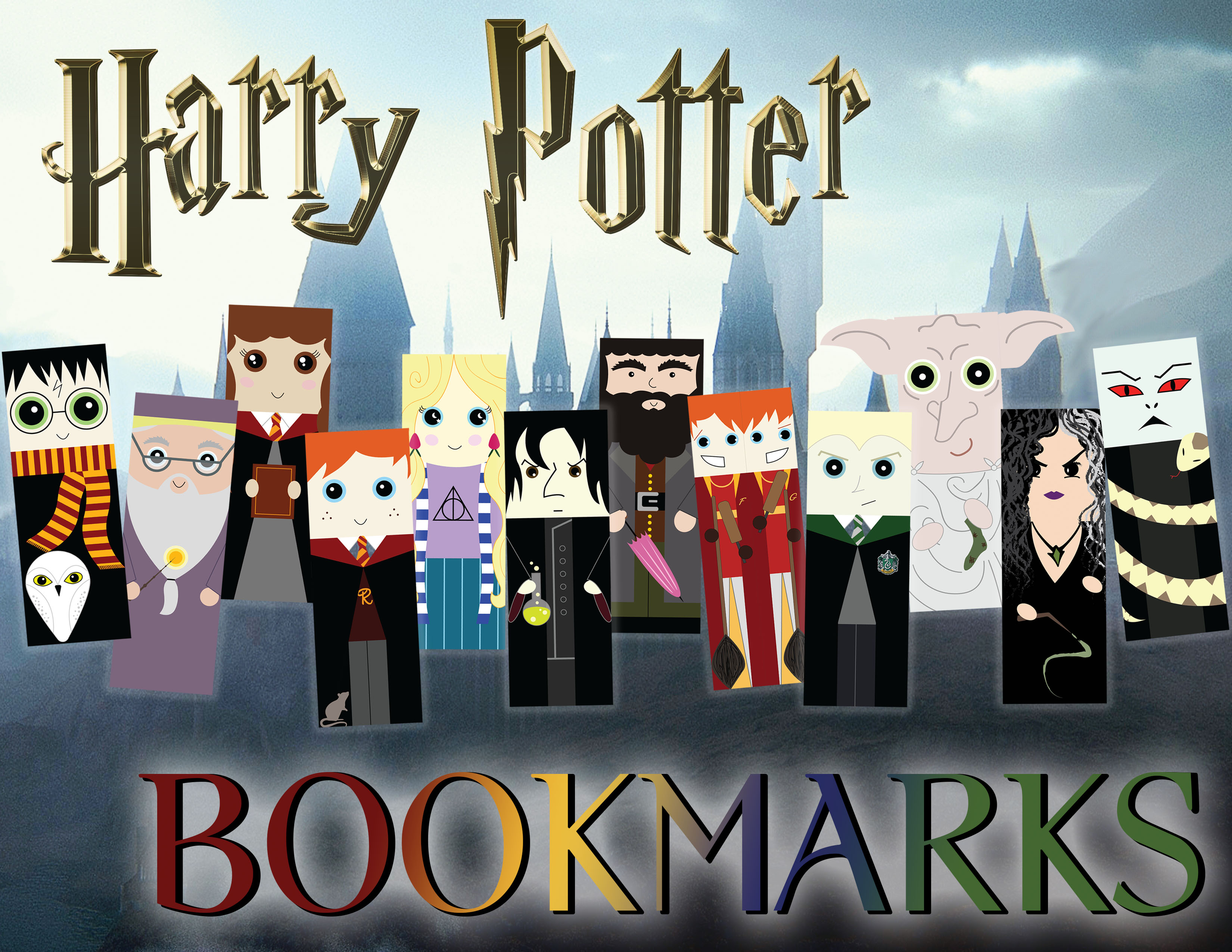 Harry Potter Bookmarks Ad