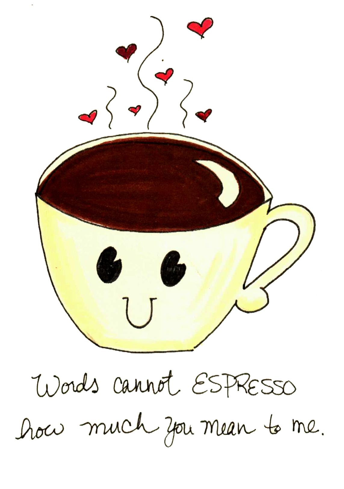 I can't espresso