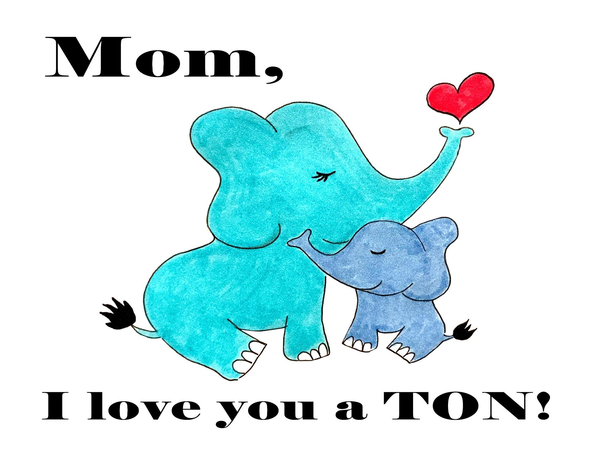 I love a TON