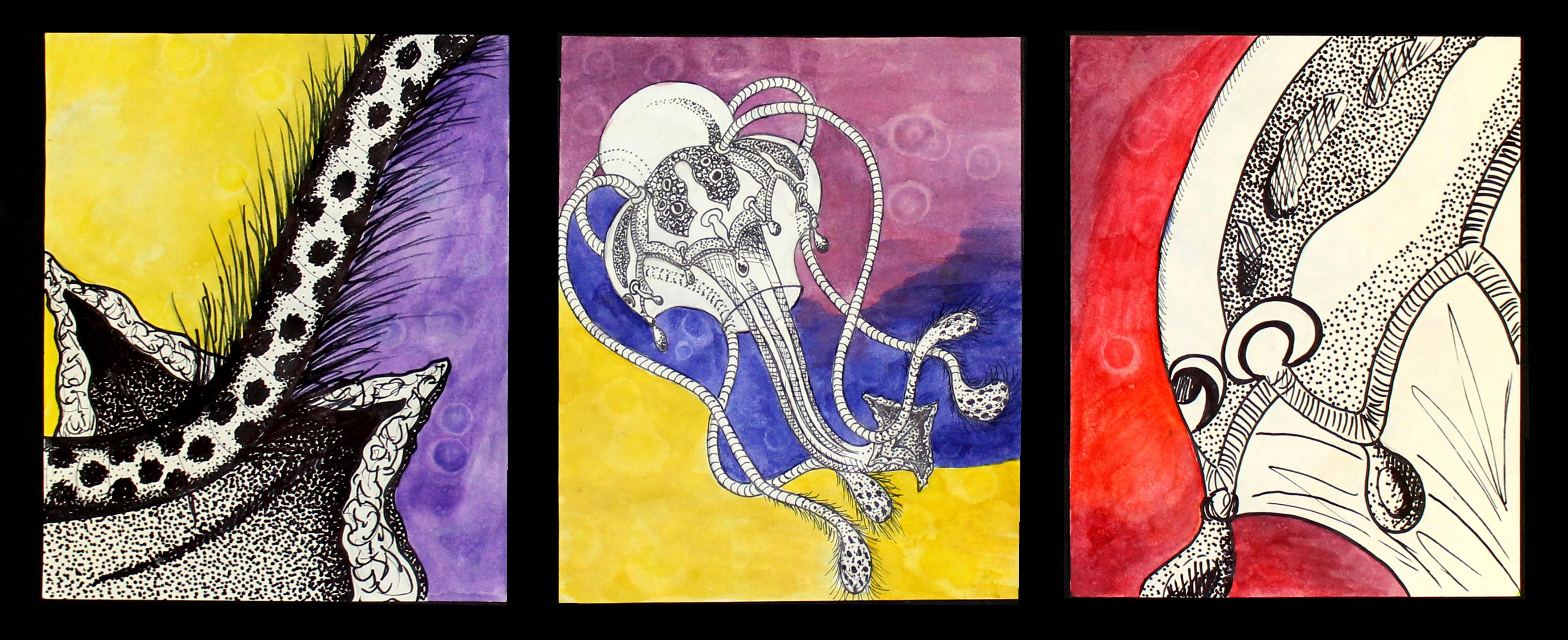 Microorganism_Triptych