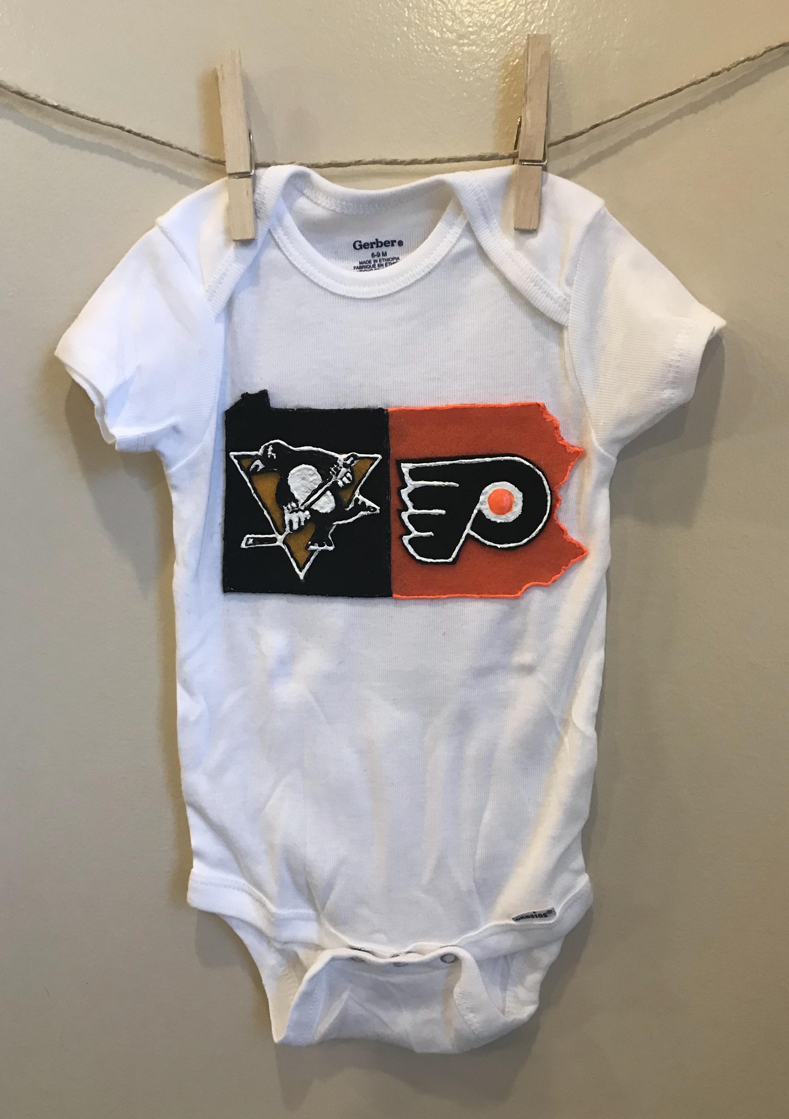 Pittsburgh Custom Onesie