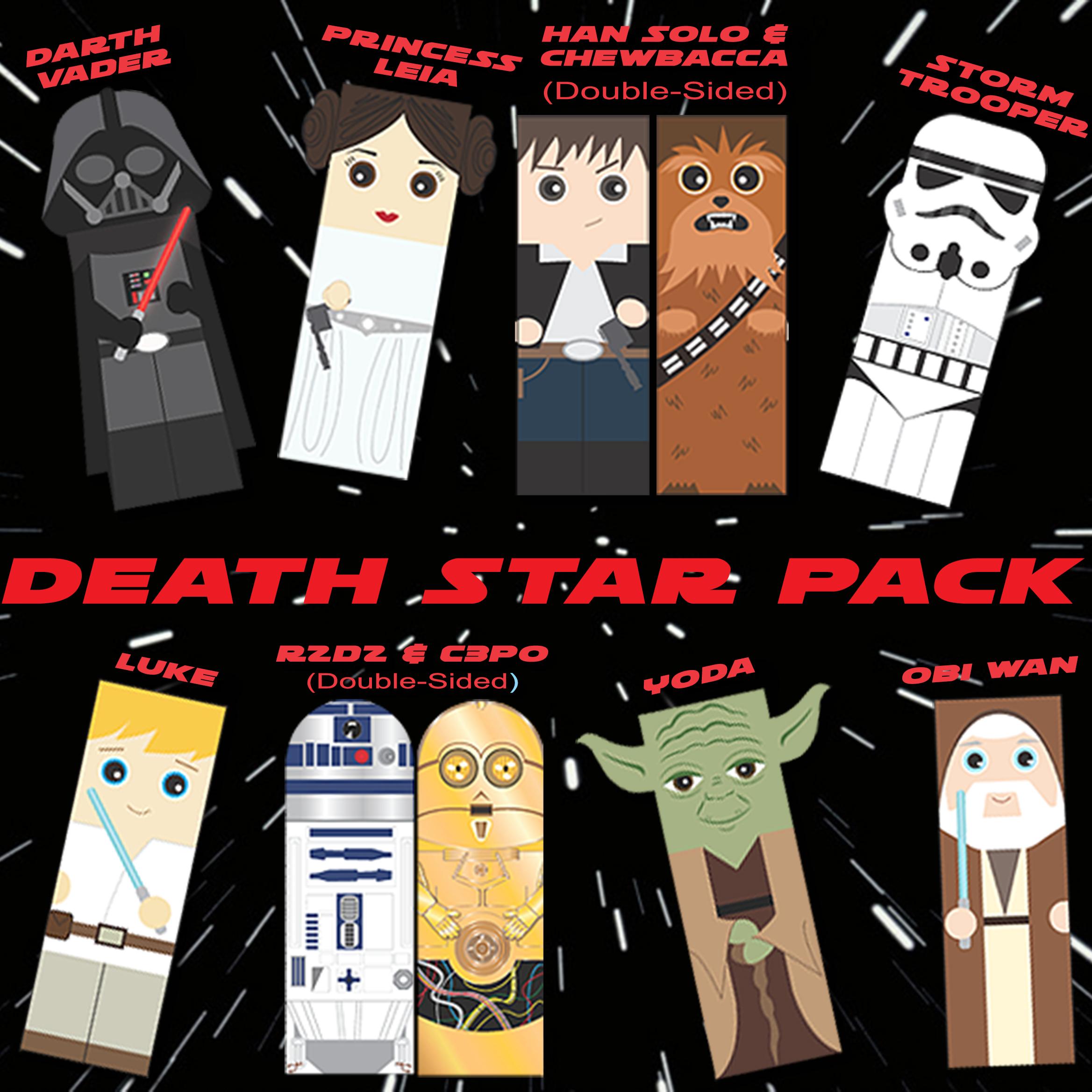 Star Wars Bookmarks_Death Star Pack