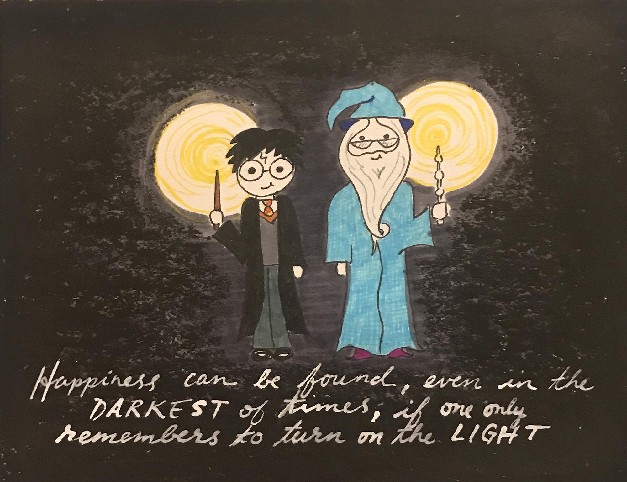 HP_Dumbledore&Harry Sympathy